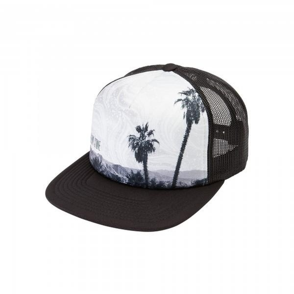 Girl Talk Trucker (Black/White)