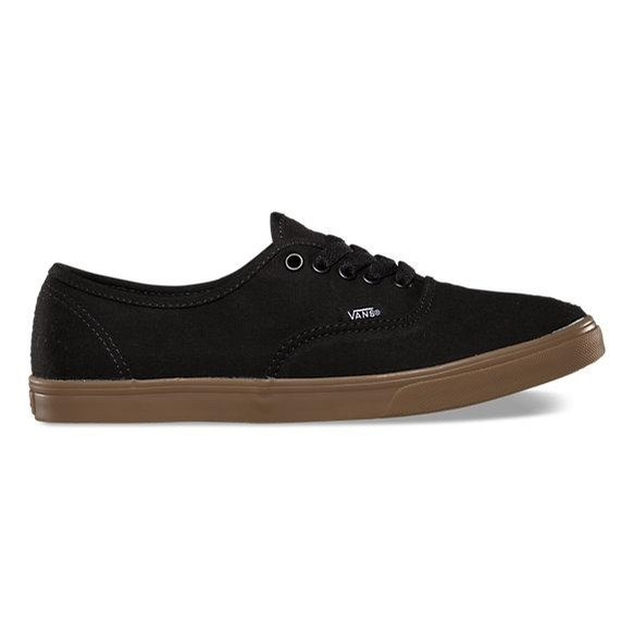 Vans Authentic Lo Pro Gumsole (Black)