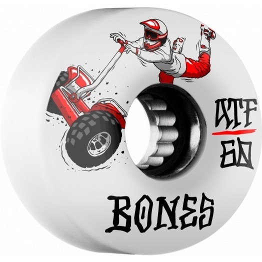 Seg Cross ATF 60mm Wheels (White)