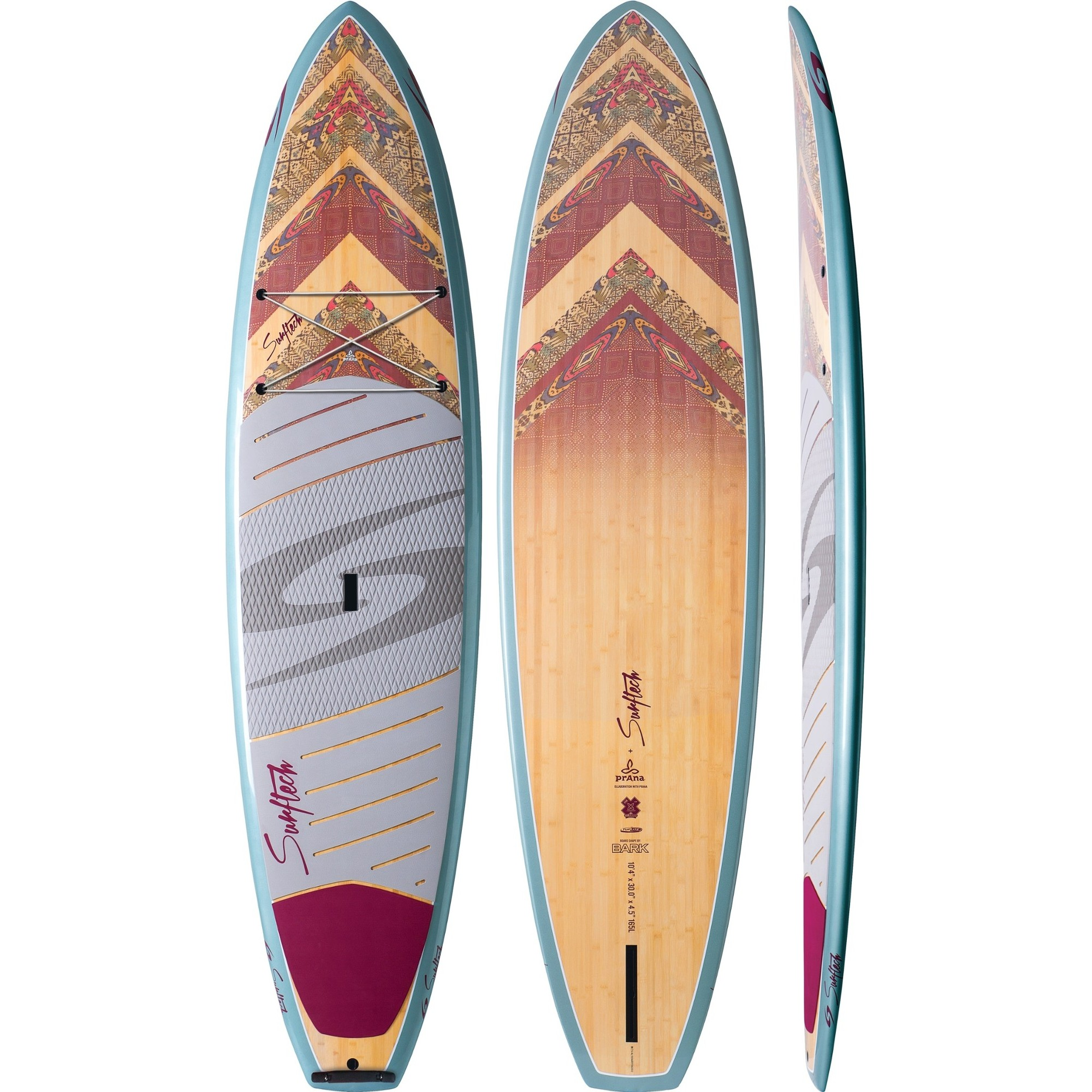 10ft 4in Bark x Surftech Aleka Tuflite V-Tech (prAna Collab)