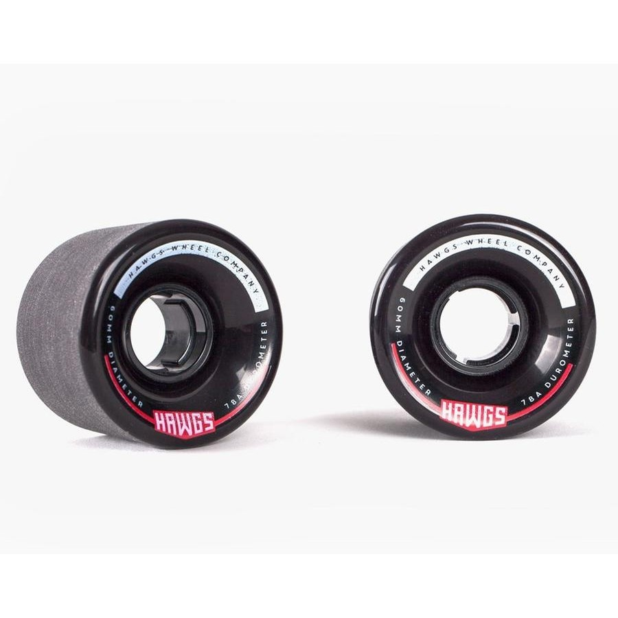 Chubby Hawgs Wheels (Black)