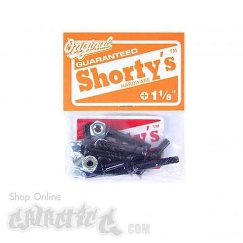 Shortys Hardware Phillips Black (1 1/8 Inch)