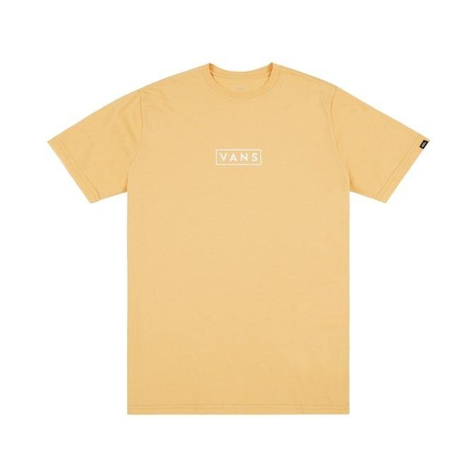 69734c614cc Vans Vans Easy Box Logo Short Sleeve T-Shirt (New Wheat) T-Shirts ...