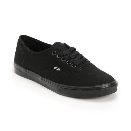 Vans Authentic Lo Pro (Black/Black)