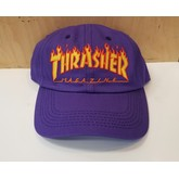 Thrasher Flame Old Timer Hat (Purple)