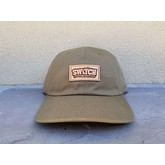 Laser Etched Box Logo Cap (Army Green)