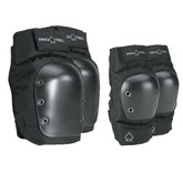 Street Knee/Elbow Combo Pad Set (Black)