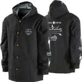 Dash Snap Hooded Jacket (Black)
