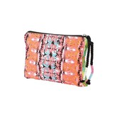 Jamon Jamon Pouch (Electric Coral)