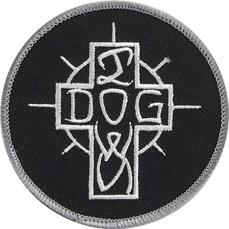 Dogtown Embroidered Ese Cross Patch