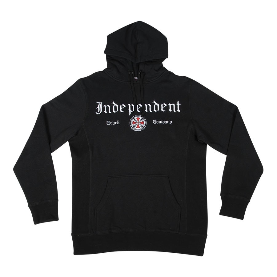 Independent Gothic P/O Hooded L/S Sweatshirt