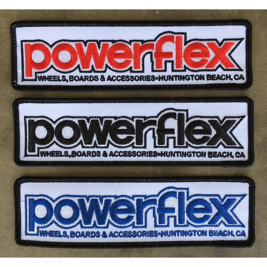 Powerflex OG Logo Iron On Patch