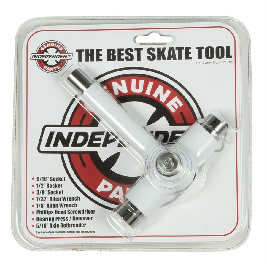 Independent Genuine Parts White Best Skate Tool