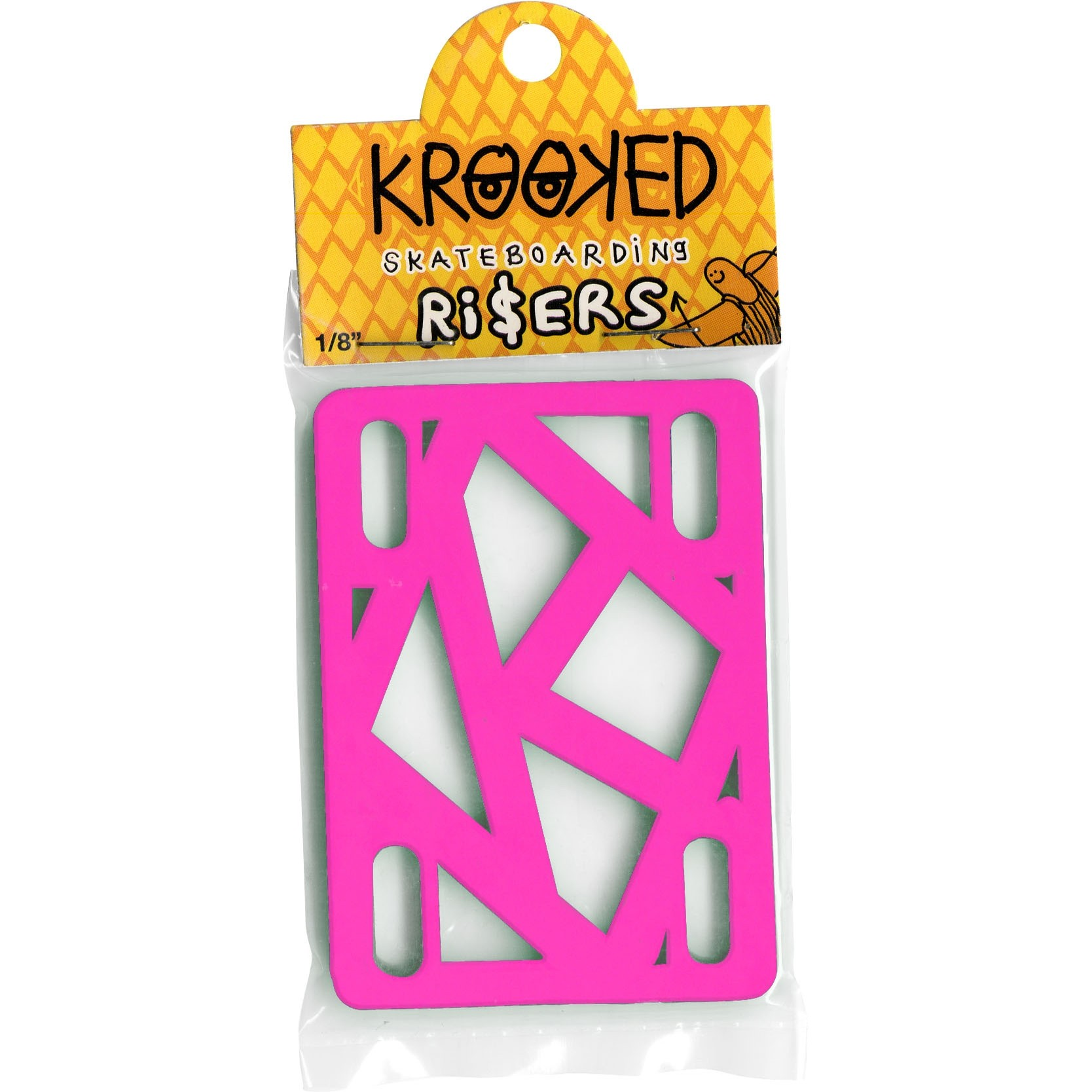 Krooked 1/8 inch riser pads