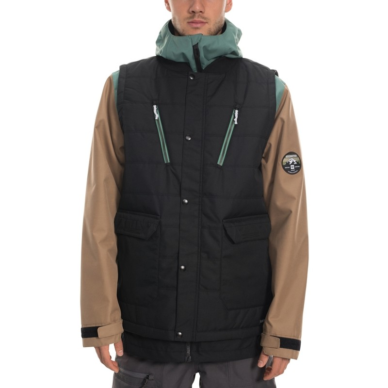 Smarty 4-in-1 Complete Jacket (Black)