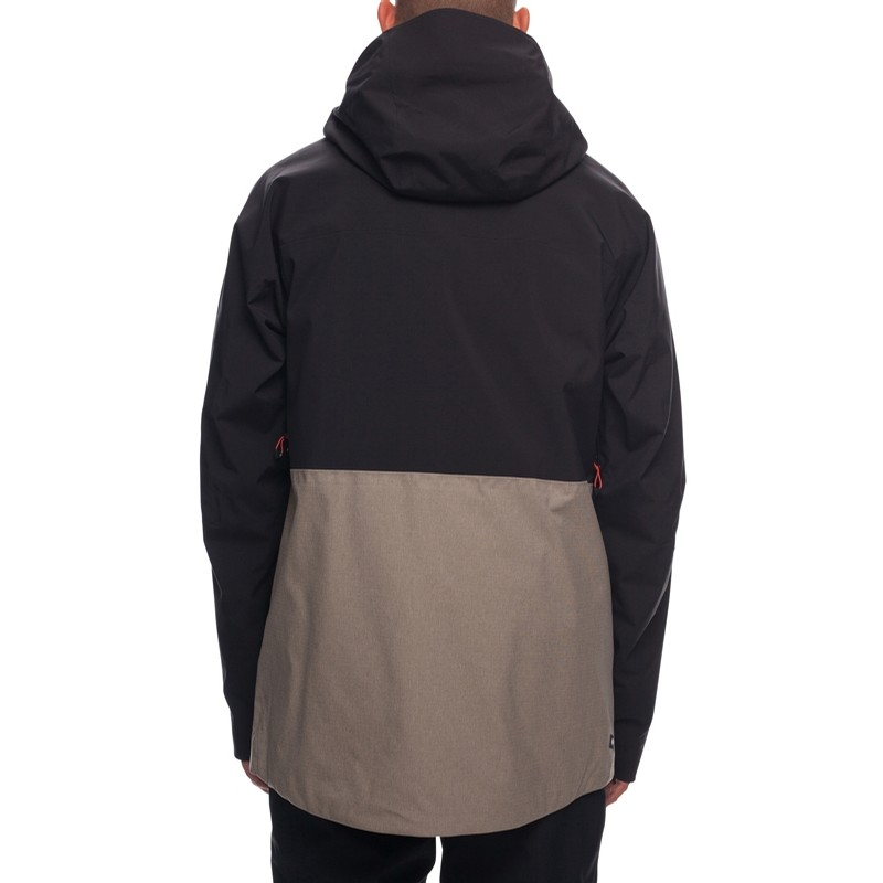 GLCR Ether Down Thermagraph Jacket - Black Colorblock