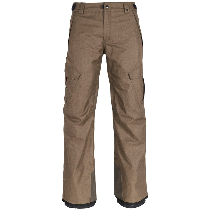 Six Eight Six Infinity Insulated Cargo Pant - Khaki Melange