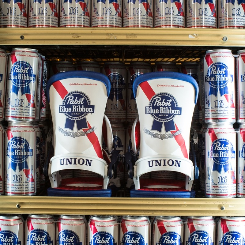 Union 2018 Uch X Pabst Blue Ribbon Bindings At