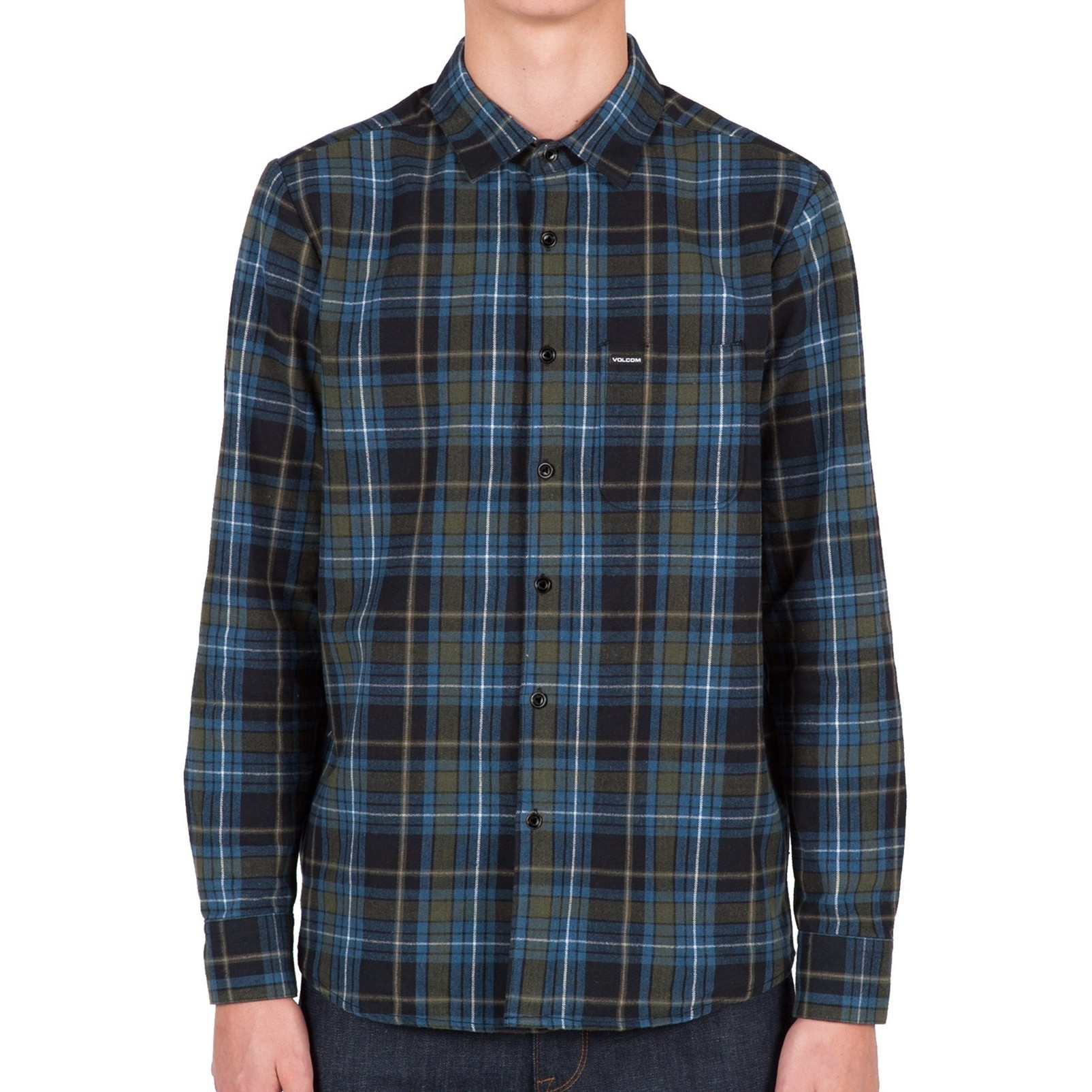 Volcom Shefield Flannel - Stealth
