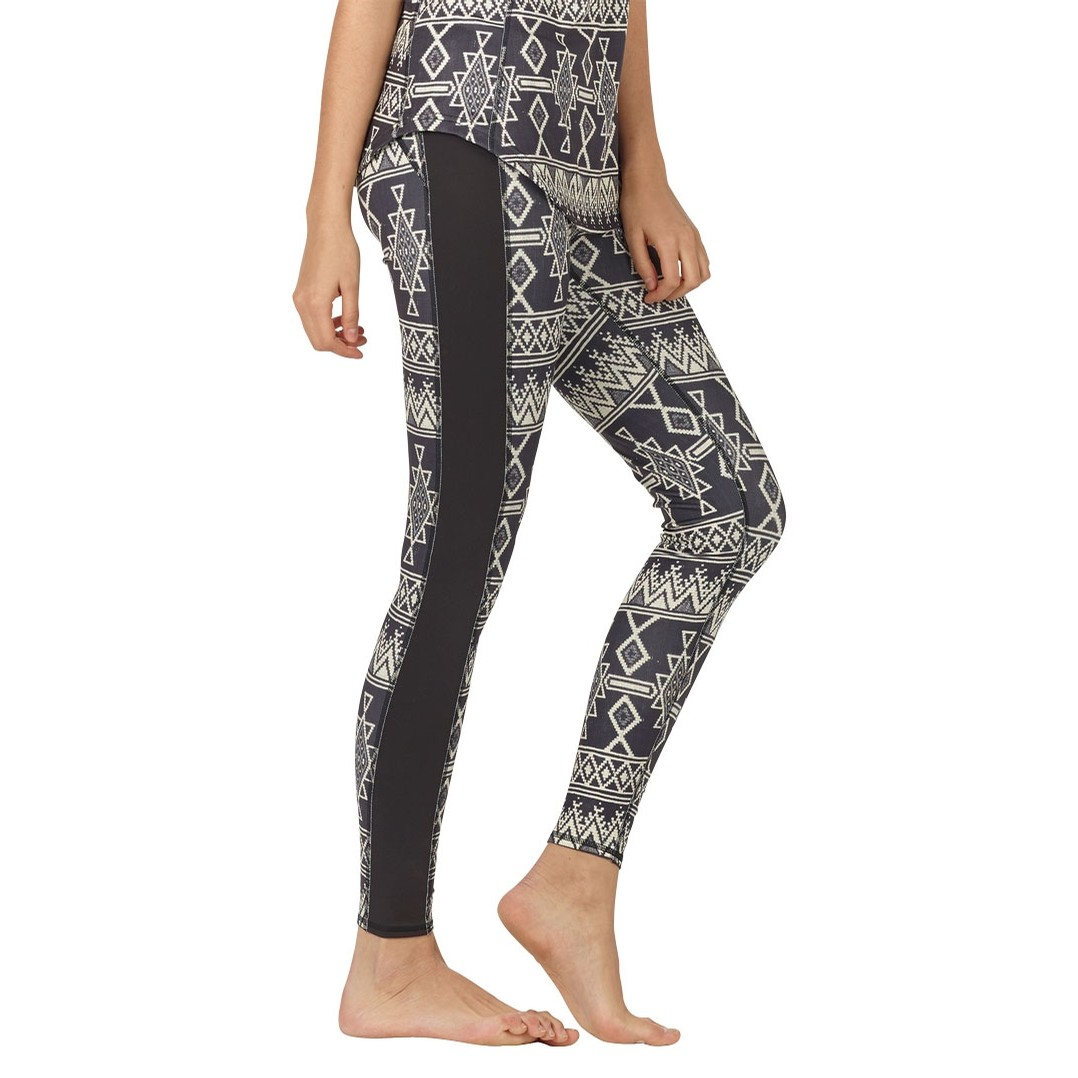 Plasma Legging - True Black Mojave