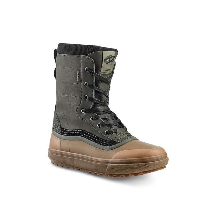 Standard Snow Boot (Green/Brown)