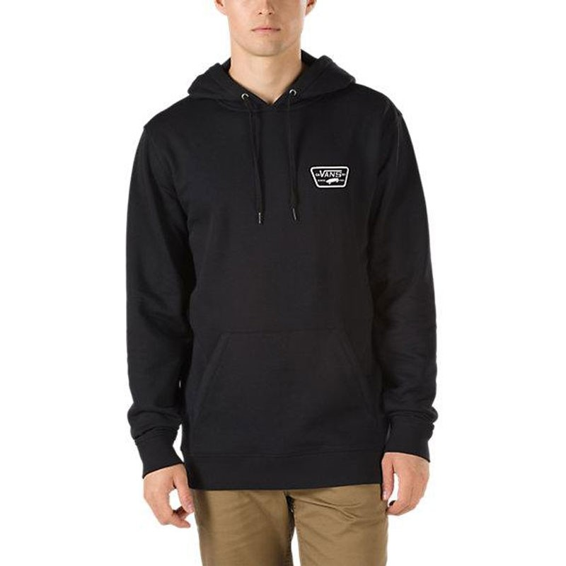 Full Patched Pullover - Black
