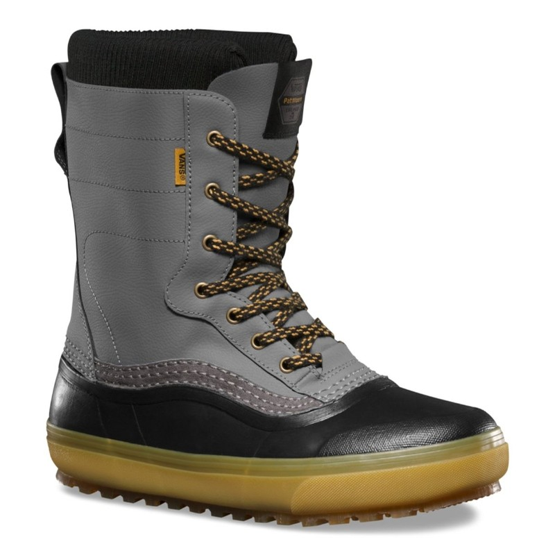 Standard Snow Boot (Black/Grey)