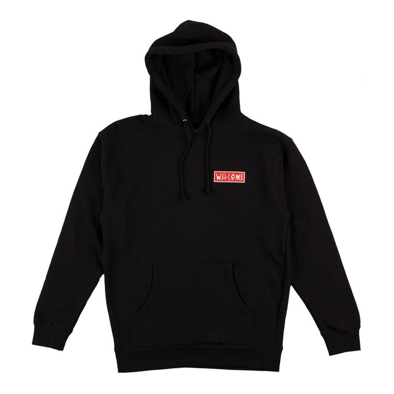 Balance Pullover Hoodie - Black/Red/White