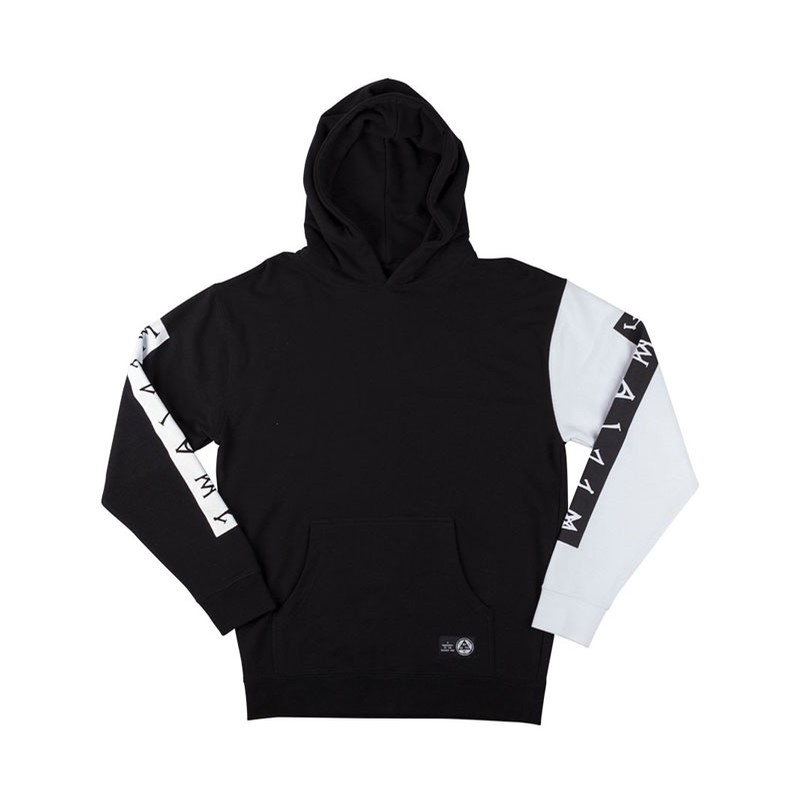 Invert French Terry Hoodie - Black/White