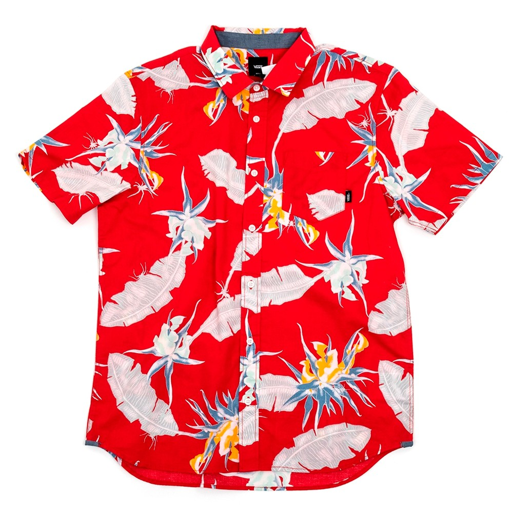 Arachnofloria S/S Shirt (Racing Red) VBU