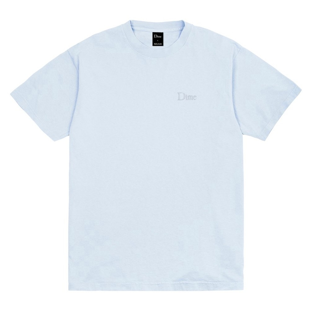 Classic Embroidered T-Shirt (Light Blue)