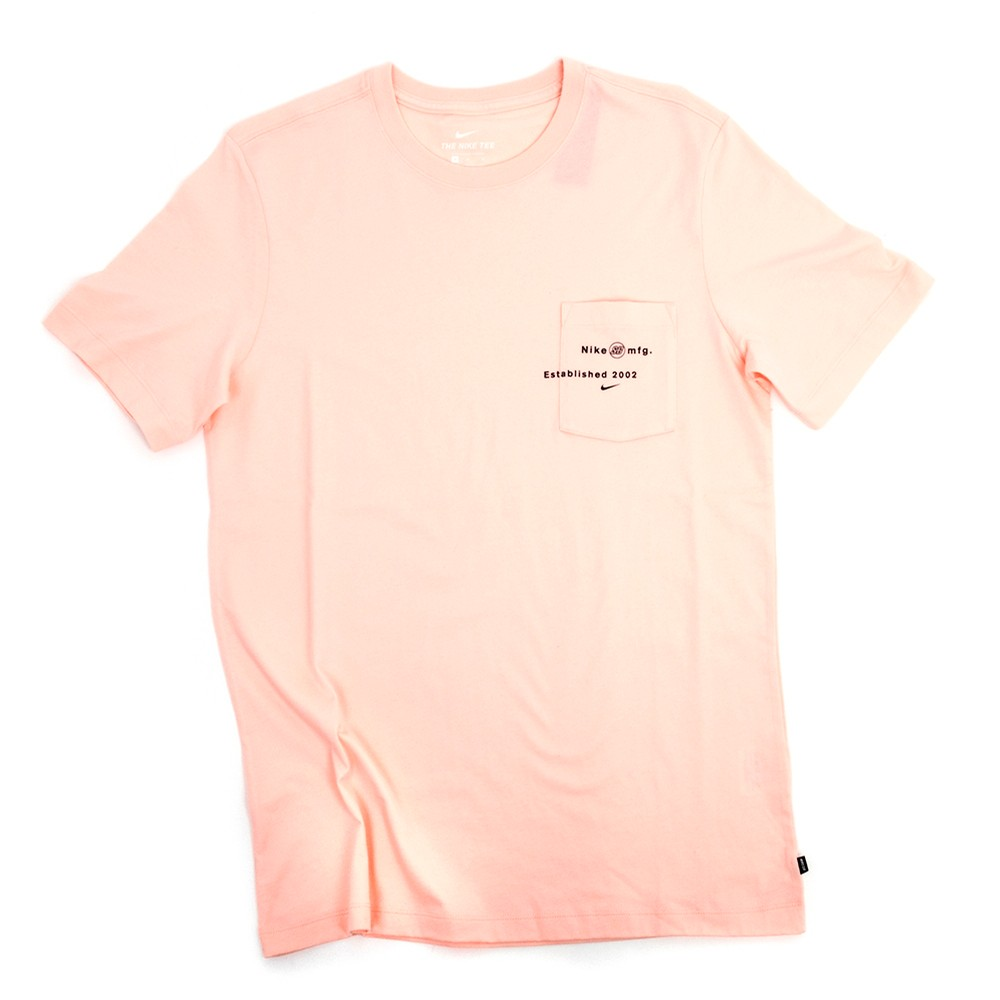 Pocket Logo T-Shirt (Bubblegum)