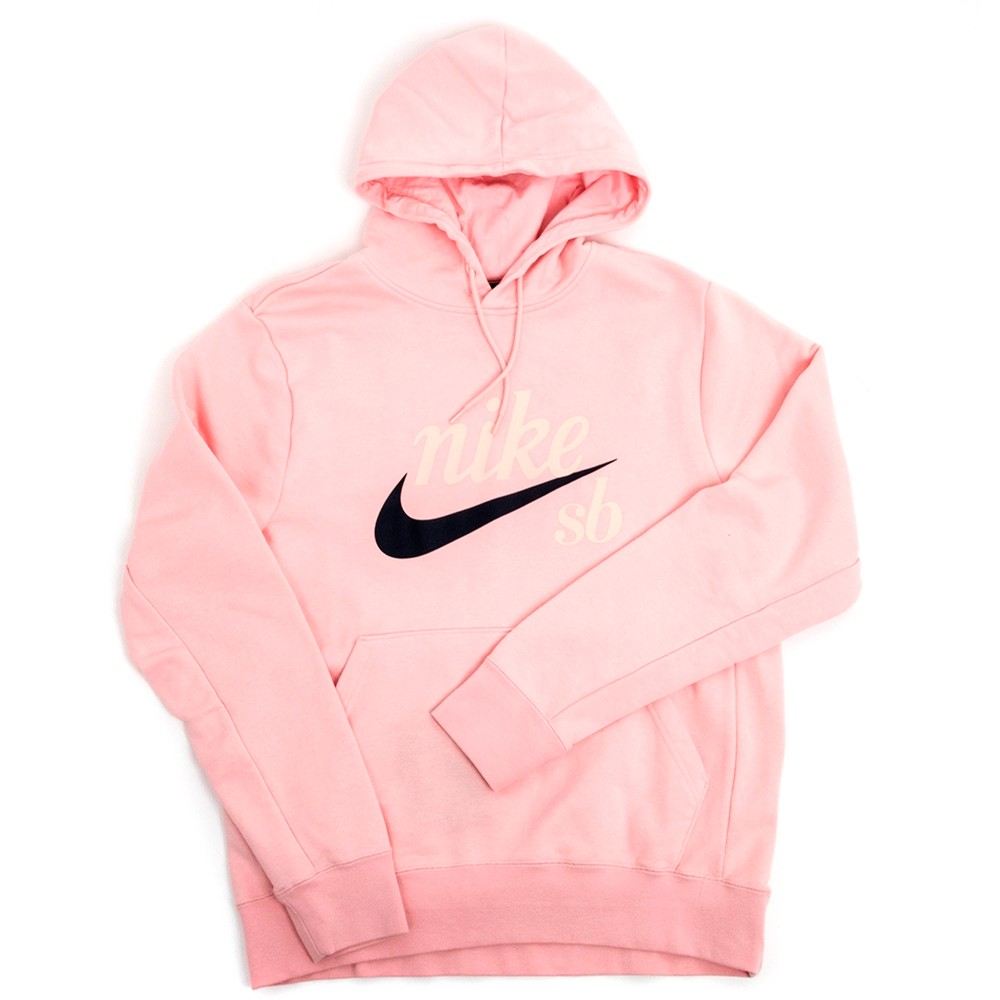 Washed Icon Hoodie (Bubblegum)