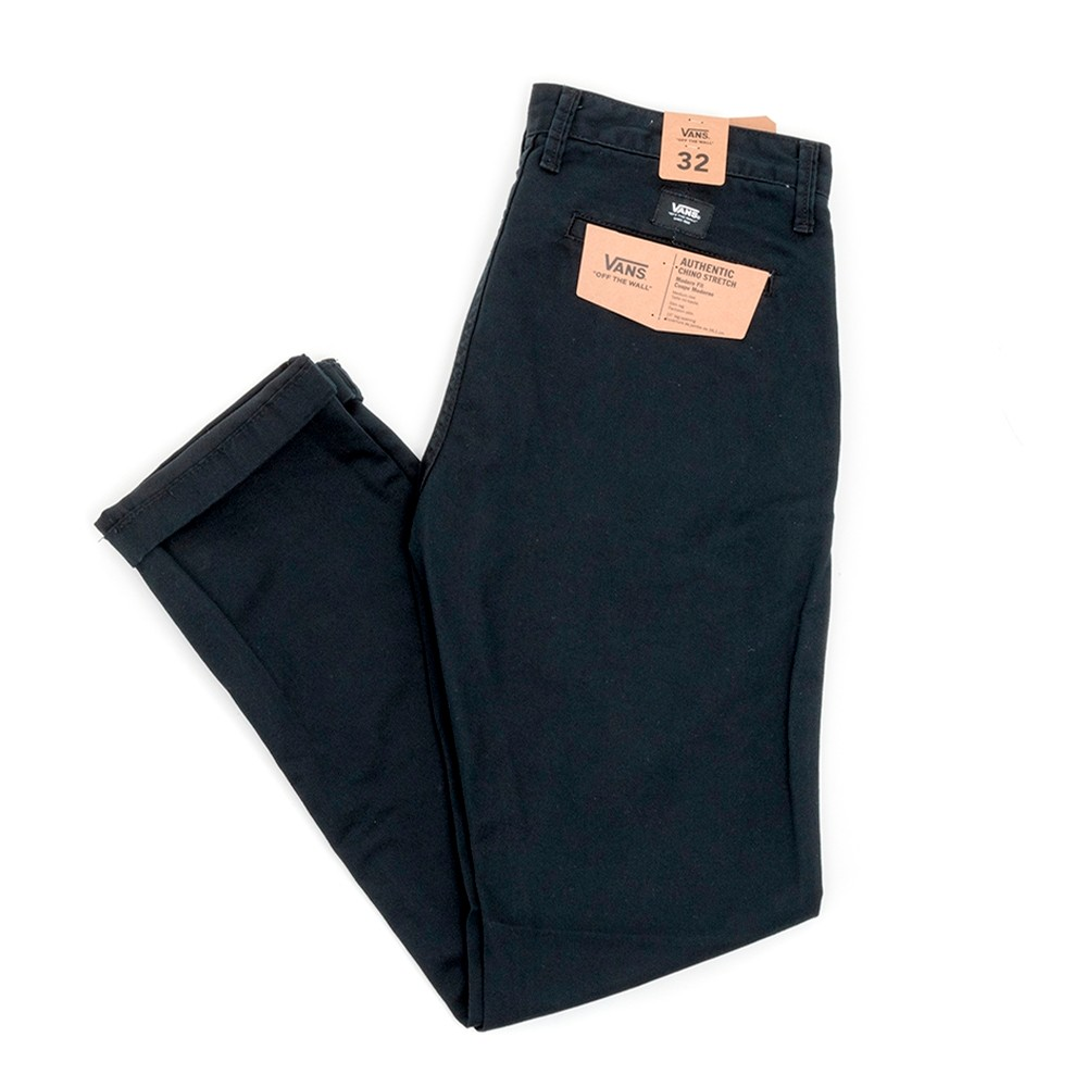 Authentic Chino Stretch (Black) VBU