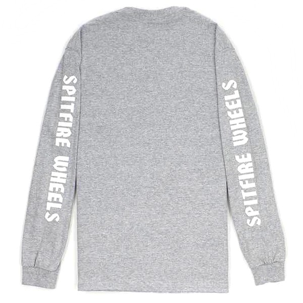 Youth Lil Bighead Hombre L/S Shirt (Athletic Heather)