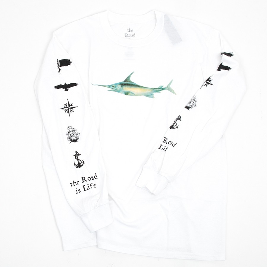 Come Sail Away L/S T-Shirt (White)