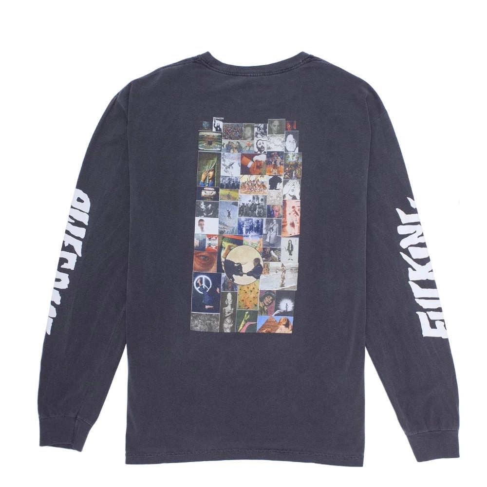 Collage L/S Shirt (Dyed Pepper)
