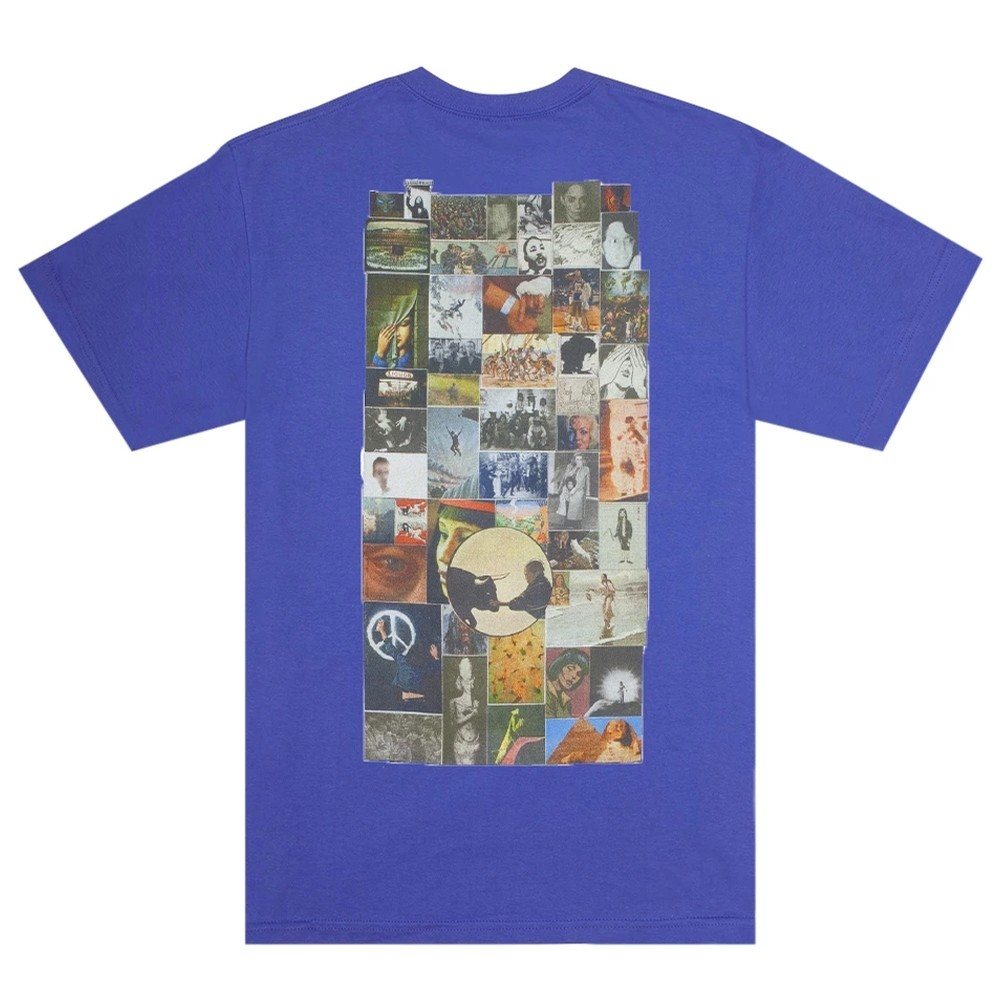 Collage Pocket T-Shirt (Flo Blue)