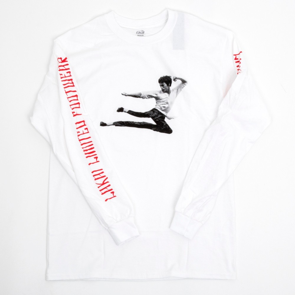 Kung Flare L/S T-Shirt (White) (P)