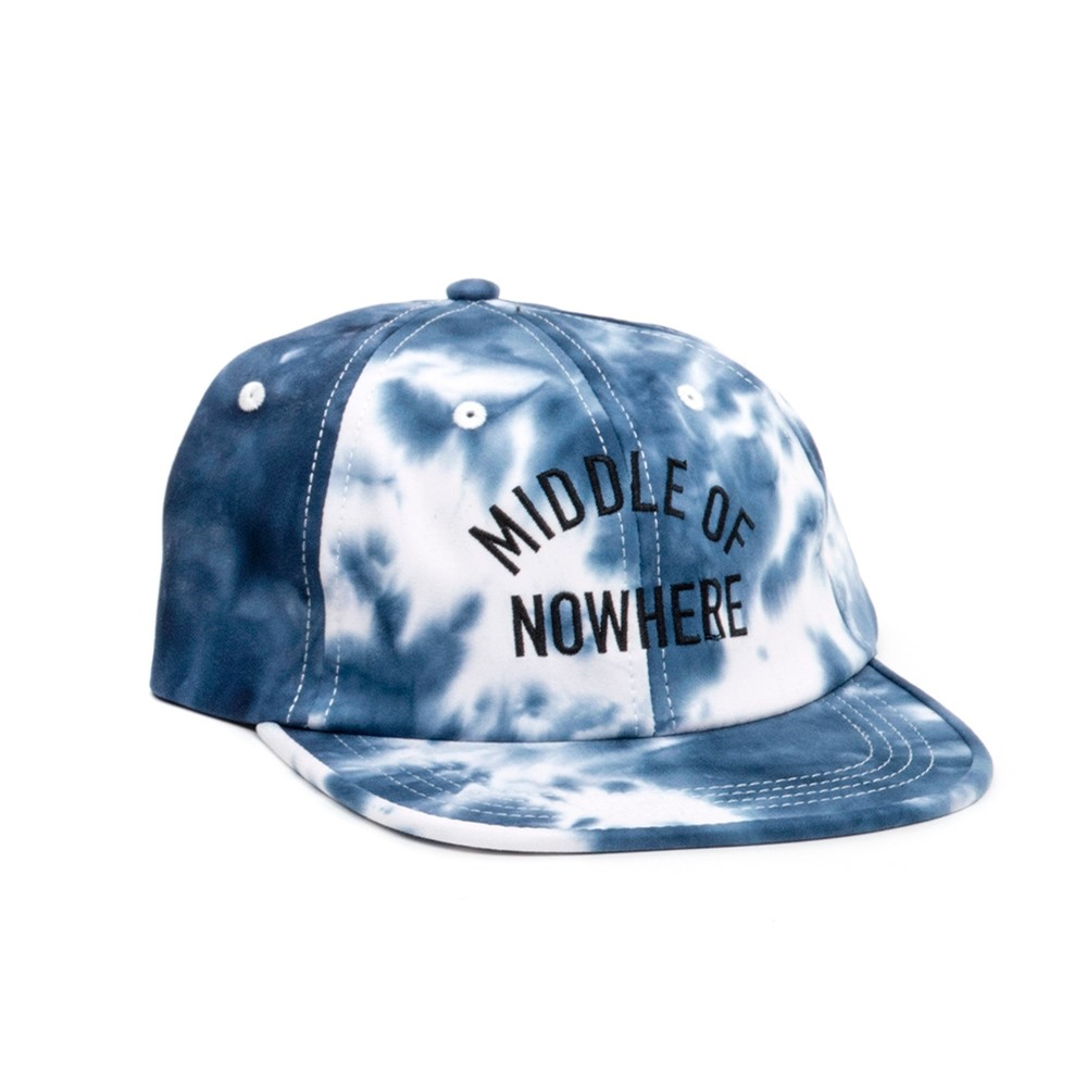 Middle Of Nowhere Polo Hat (Blue Tie Dye)