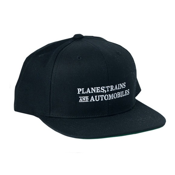 Planes Trains Automobiles Snapback (Black)