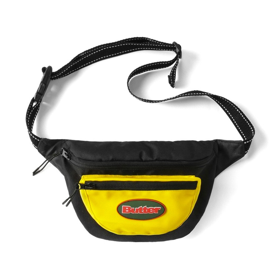 Trail Hip Pack (Black / Yellow)