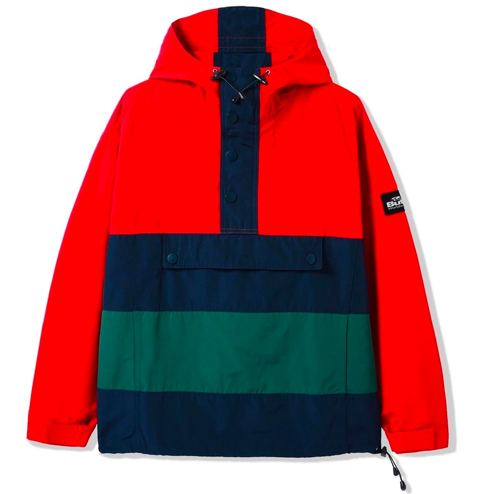 Santosuosso Jacket (Red / Navy / Forest)
