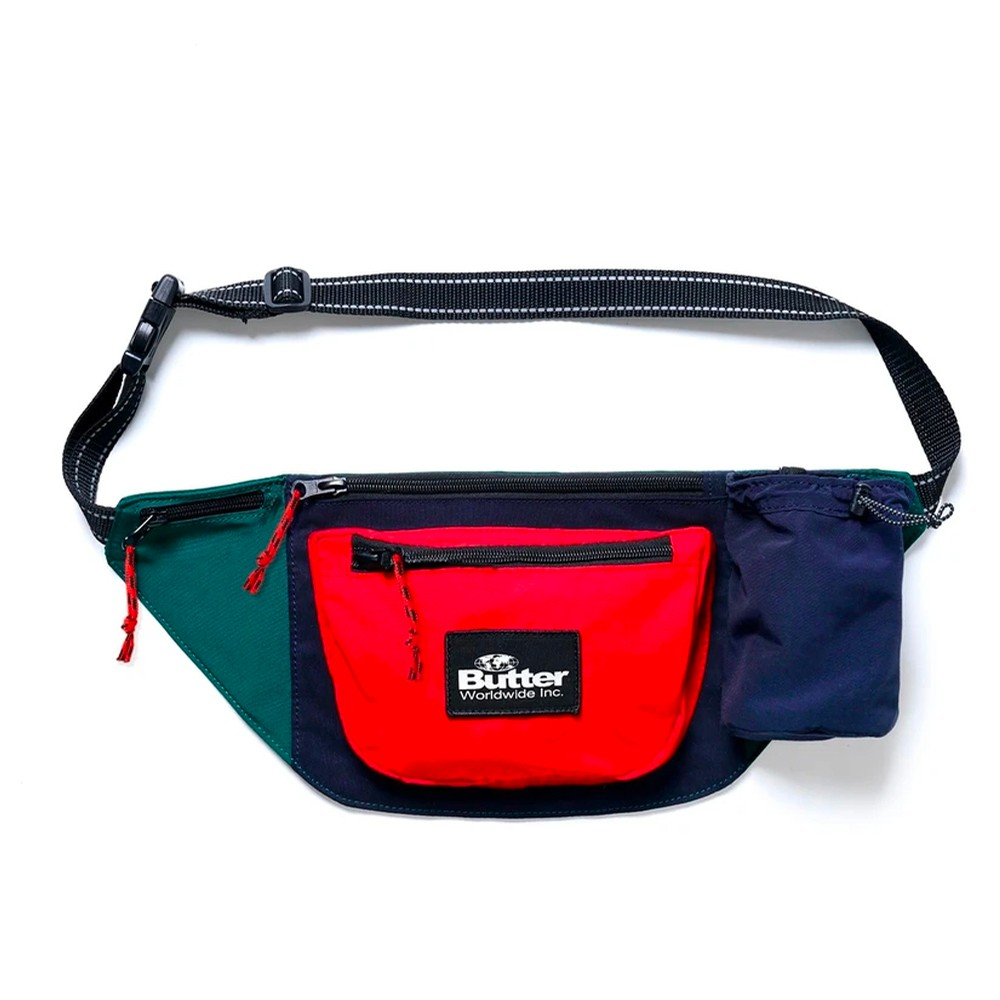 Santosuosso Utility Bag (Navy / Red / Green)
