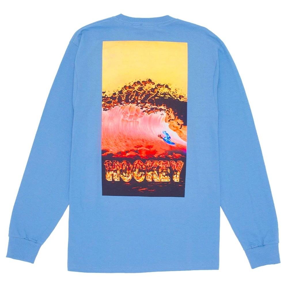 Silver Surfer L/S T-Shirt (Stone Washed Blue)