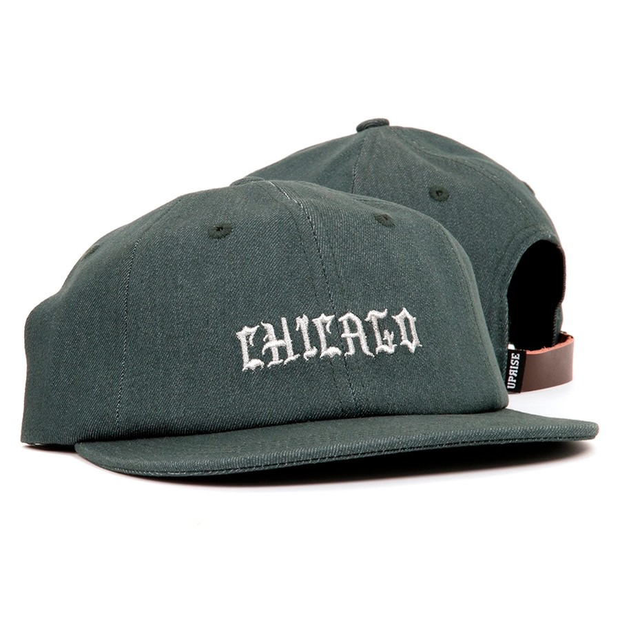 Uprise Chi-Town Denim 6-Panel (Pine)
