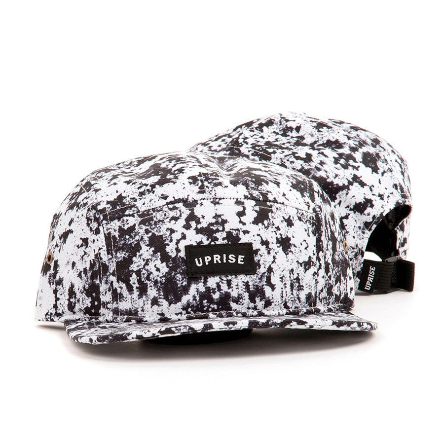 Franklin Arch 5-Panel Hat (Snow Camo) Day