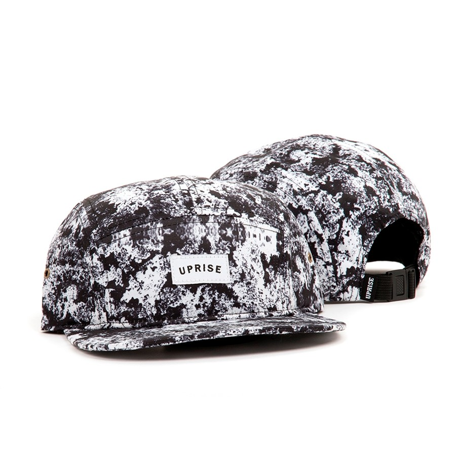 Franklin Arch 5-Panel Hat (Snow Camo) Night