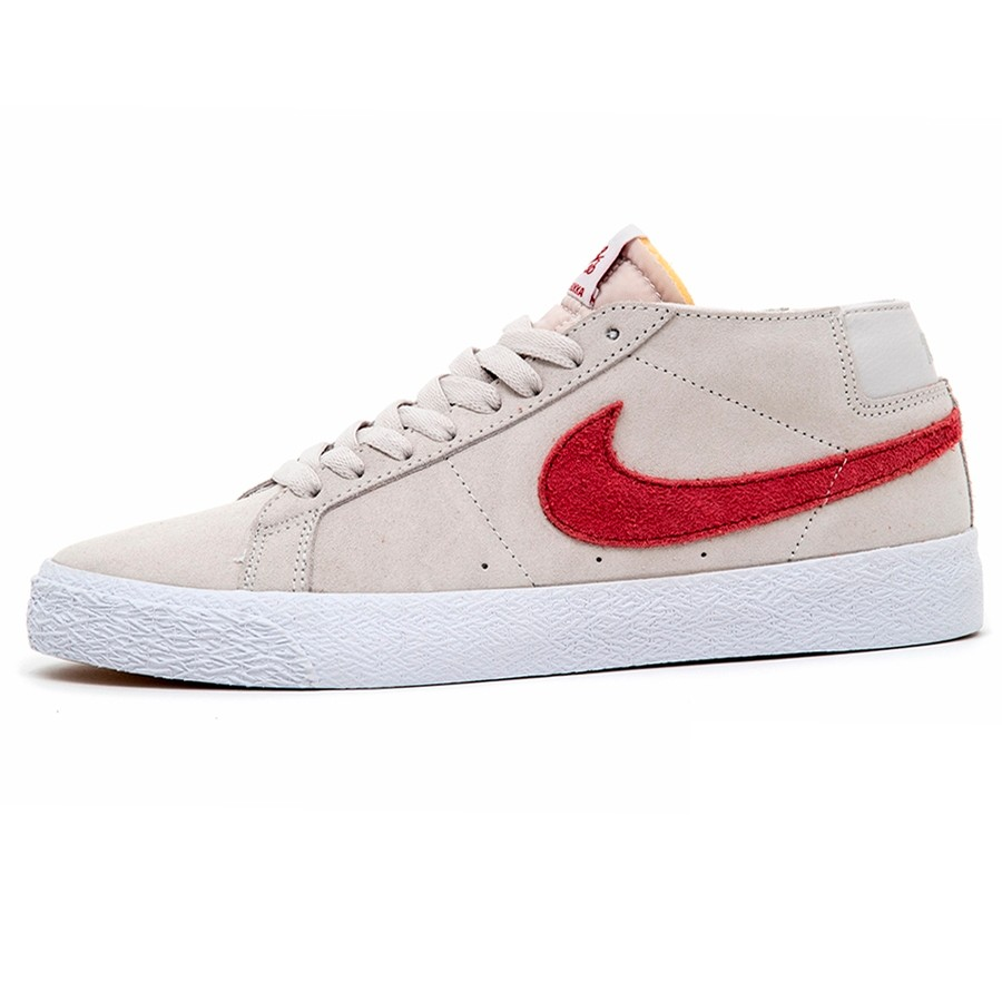 Zoom Blazer Chukka (Vast Grey / Team Crimson)