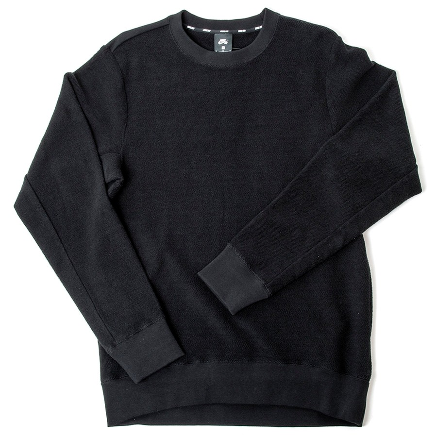 SB Everett Loopers Crewneck (Black)